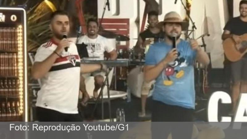 Sertanejo Zé Neto é criticado por homofobia ao vestir camisa do São Paulo